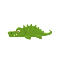 Crocodile Toy Exotic Animal Drawing vector image