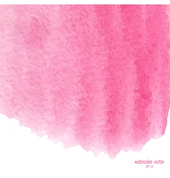 Pink watercolor squarer background vector