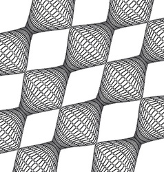 textures retro geometric fractal vector image