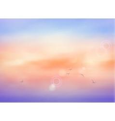 Cloud Sky vector image vector image