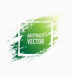abstract splash green vector image