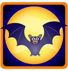 Baby bat vector