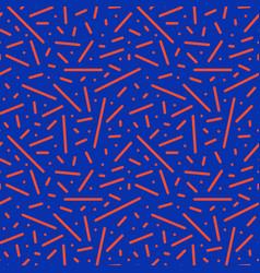 bright trendy seamless pattern fashion retro vector image