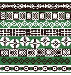 ethnic African vector image