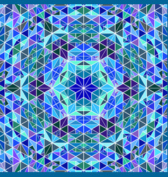 Geometrical abstract dynamic radial triangle vector