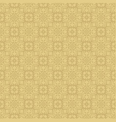 Korean traditional beige flower pattern background vector
