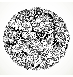 Round decorative element for processing imaginary vector