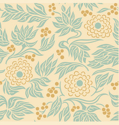 Seamless floral pattern 3 vector