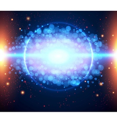 Abstract cosmic light background eps 10 vector image
