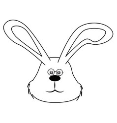 Easter bunny design vector