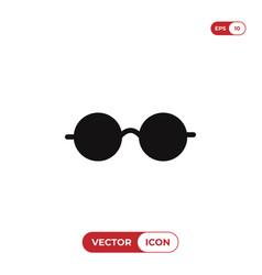 eyeglasses icon vector image