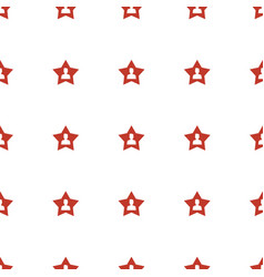 favourite user icon pattern seamless white vector image
