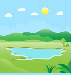natural environment vector image
