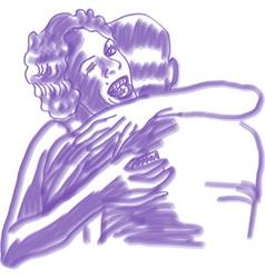 Purple lovers vector