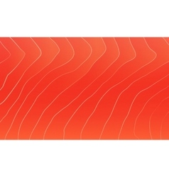 Red salmon texture vector image