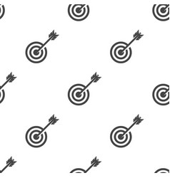 target seamless pattern vector image
