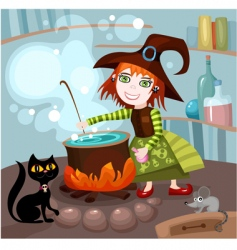 witches brew vector image