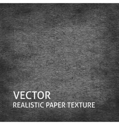 Dark grey paper background vector image