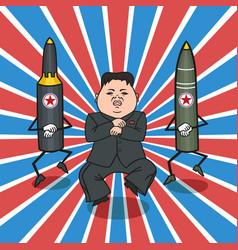 north korean style vector image