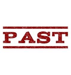 Past watermark stamp vector