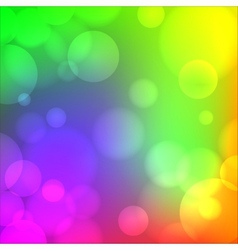 Colorful soft blurry background vector image