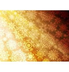 Christmas background with snowflakes EPS 10 vector image vector image