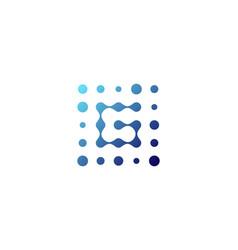 G letter dot logo icon design vector