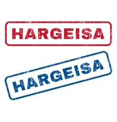 Hargeisa Rubber Stamps vector image