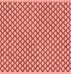 Snake skin pink and maroon seamless pattern vector