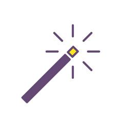 wand magic logo icon design vector image