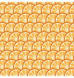 Citrus summer pattern vector image