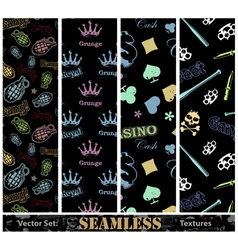seamless textures vector image vector image