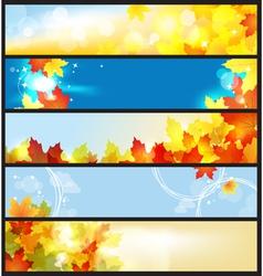autumn days vector image