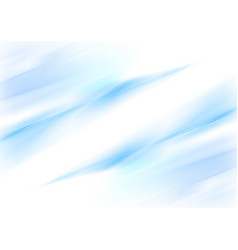 abstract blue waves smooth gradient background vector image