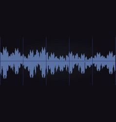 audio sound graph vector image