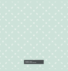 Clean minimal pattern background vector