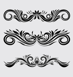 Decorative Ornamental vector image