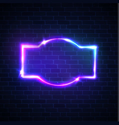 Disco show advertise street signage on brick wall vector