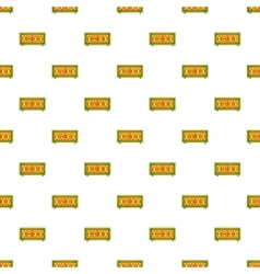 Electronic watch pattern cartoon style vector