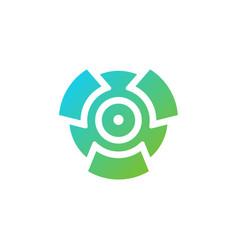 recycle icon logo concept template simple logo vector image