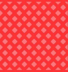 Seamless square pattern - colorful design vector