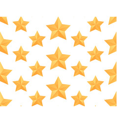 seamless pattern with paper origami stars for vector image