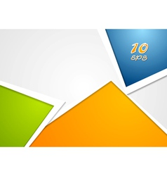Colourful background vector image vector image