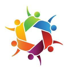 Family group logo vector image
