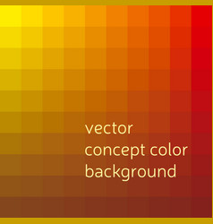 red and yellow abstract concept geometry vector image vector image