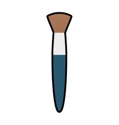 brush make up style product icon graphic vector image