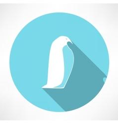 Penguin Icon vector image vector image