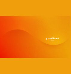 Abstract colorful background orange color vector