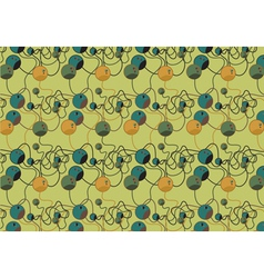 Colorful beads pattern vector image