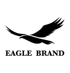 eagle brand 1 vector image